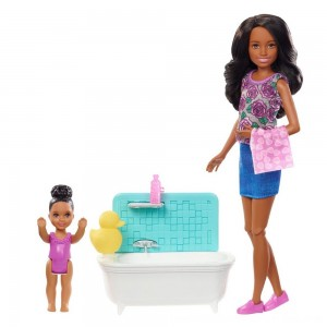 Black Friday 2020 - Barbie Skipper Babysitters Inc. Doll & Playset - Dark Hair