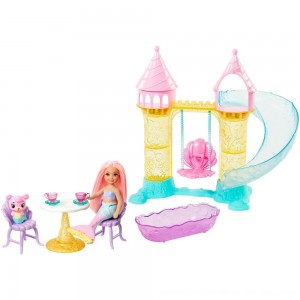Black Friday 2020 - Barbie Chelsea Mermaid Playground Playset