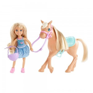 Black Friday 2020 - Barbie Chelsea Doll & Pony Playset