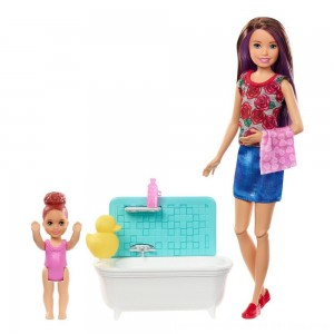 Black Friday 2020 - Barbie Skipper Babysitters Inc. Doll & Playset - Blond