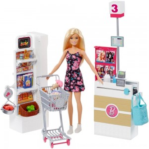 Black Friday 2020 - Barbie Supermarket Playset