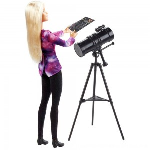 Black Friday 2020 - Barbie National Geographic Astronomer Playset