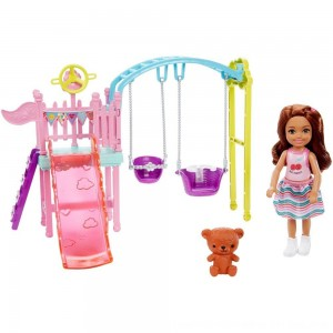 Black Friday 2020 - Barbie Club Chelsea Swingset Playset