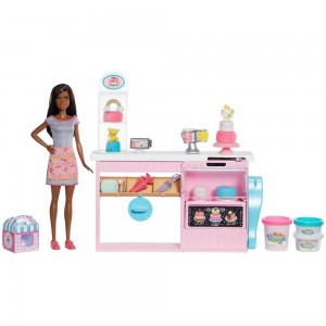 Black Friday 2020 - Barbie Cake Bakery Playset