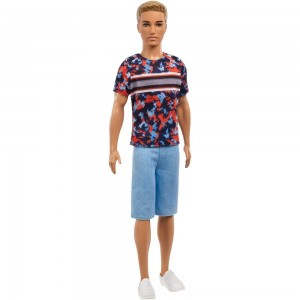 Black Friday 2020 - Barbie Ken Fashionistas Doll - Hyper Print
