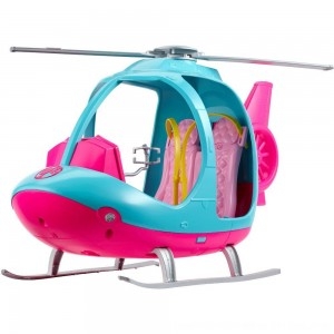 Black Friday 2020 - Barbie Travel Helicopter, toy vehicle playsets