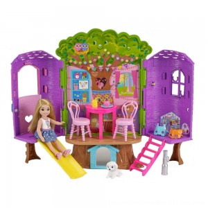 Black Friday 2020 - Barbie Chelsea Doll and Treehouse Playset