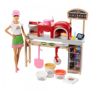Black Friday 2020 - Barbie Careers Pizza Chef Doll and Playset