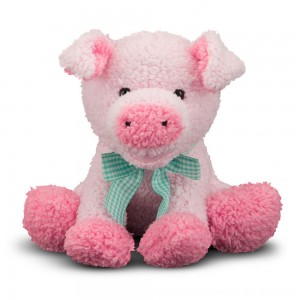 Black Friday 2020 - Melissa & Doug Meadow Medley Piggy - Stuffed Animal With Sound Effect