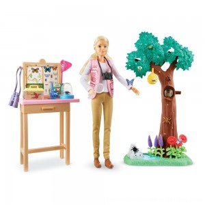 Black Friday 2020 - Barbie National Geographic Butterfly Scientist Playset