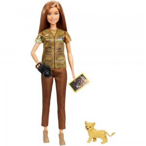 Black Friday 2020 - Barbie National Geographic Photographer Playset