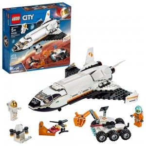 Blac Friday 2020 - LEGO City Space Mars Research Shuttle 60226 Space Shuttle Toy Building Kit with Mars Rover