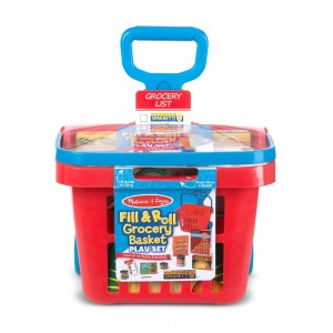 Black Friday 2020 - Melissa & Doug Fill & Roll Grocery Basket Playset