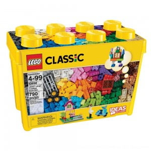 Blac Friday 2020 - LEGO Classic Large Creative Brick Box 10698 Build Your Own Creative Toys, Kids Building Kit
