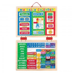 Black Friday 2020 - Melissa & Doug My First Daily Magnetic Calendar