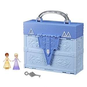 Black Friday 2020 - Disney Frozen 2 Pop Adventures Arendelle Castle Playset With Handle