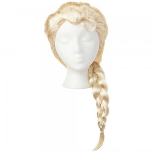 Black Friday 2020 - Disney Frozen 2 Elsa Wig, Yellow
