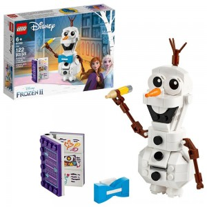 Black Friday 2020 - LEGO Disney Frozen 2 Olaf 41169 Olaf Snowman Toy Figure Building Kit 122pc