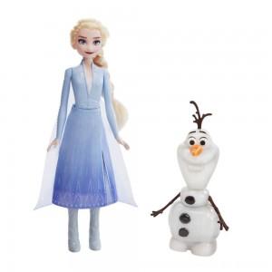 Black Friday 2020 - Disney Frozen 2 Talk and Glow Olaf and Elsa Dolls