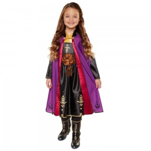 Black Friday 2020 - Disney Frozen 2 Anna Travel Dress, Size: Small, MultiColored