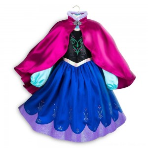 Black Friday 2020 - Disney Frozen 2 Anna Kids' Dress - Size 7-8 - Disney store, Girl's, Blue