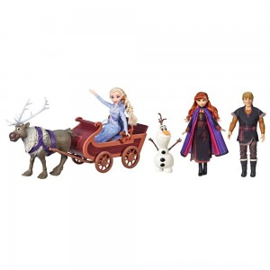 Black Friday 2020 - Disney Frozen 2 Sledding Adventures Doll Pack