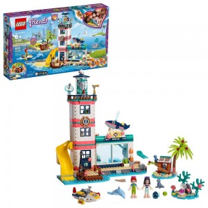 Black Friday 2020 - LEGO Friends Lighthouse Rescue Center 41380 Building Kit with Mini Dolls and Toy Animals 602pc