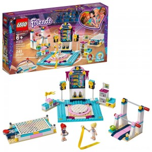 Black Friday 2020 - LEGO Friends Stephanie's Gymnastics Show 41372 Building Set with Gymnastics Toys 241pc