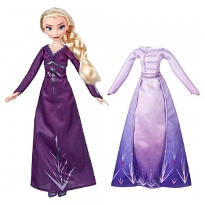 Black Friday 2020 - Disney Frozen 2 Arendelle Fashions Elsa Fashion Doll With 2 Outfits