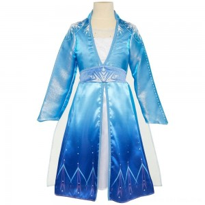 Black Friday 2020 - Disney Frozen 2 Elsa Travel Dress, Size: Small, MultiColored