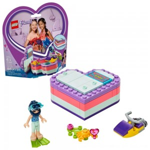 Blac Friday 2020 - LEGO Friends Emma's Summer Heart Box 41385 Building Kit with Toy Scooter and Mini Doll 83pc