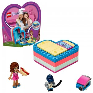 Black Friday 2020 - LEGO Friends Olivia's Summer Heart Box 41387 Portable Toy Mini Doll 93pc