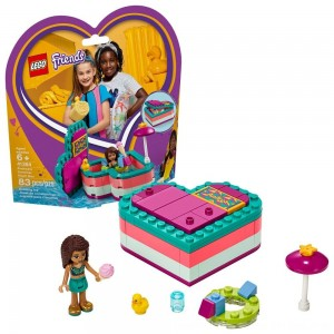 Black Friday 2020 - LEGO Friends Andrea's Summer Heart Box 41384 Heart Box Building Set with Andrea Mini Doll Playset 83pc