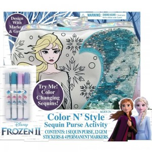 Black Friday 2020 - Disney Frozen 2 Color and Style Sequin Purse Activity Set