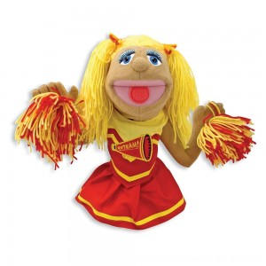 Black Friday 2020 - Melissa & Doug Cheerleader Puppet With Detachable Wooden Rod