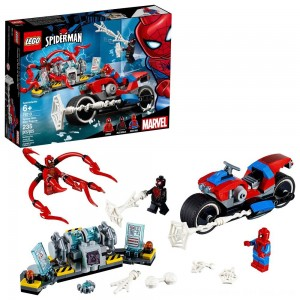 Black Friday 2020 - LEGO Super Heroes Marvel Spider-Man Bike Rescue 76113