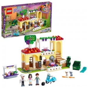 Black Friday 2020 - LEGO Friends Heartlake City Restaurant 41379 Building Kit with Restaurant Playset and Mini Dolls
