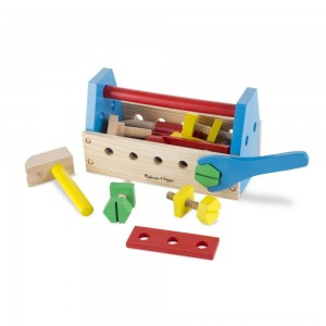 Black Friday 2020 - Melissa & Doug Take-Along Tool Kit Wooden Construction Toy (24pc)