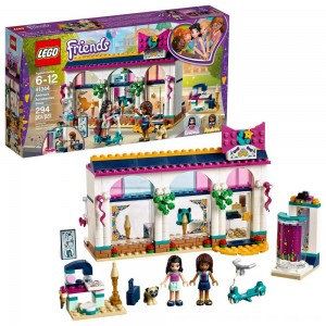 Black Friday 2020 - LEGO Friends Andrea's Accessories Store 41344