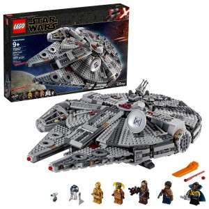 Black Friday 2020 - LEGO Star Wars: The Rise of Skywalker Millennium Falcon Building Kit Starship Model with Minifigures 75257