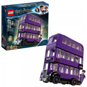 Black Friday 2020 - LEGO Harry Potter The Knight Bus 75957 Triple Decker Toy Bus Building Kit 403pc