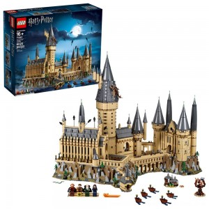Blac Friday 2020 - LEGO Harry Potter Hogwarts Castle Advanced Building Set Model with Harry Potter Minifigures 71043