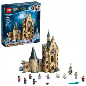 Black Friday 2020 - LEGO Harry Potter and The Goblet of Fire Hogwarts Clock Tower Castle Playset with Minifigures 75948