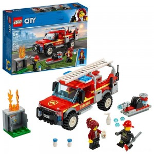 Blac Friday 2020 - LEGO City Fire Chief Response Truck 60231 Building Set with Toy Firetruck and Ladder 201pc