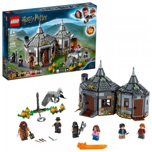Black Friday 2020 - LEGO Harry Potter Hagrid's Hut: Buckbeak's Rescue Building Set with Hippogriff Figure 75947