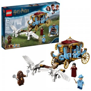 Black Friday 2020 - LEGO Harry Potter Beauxbatons' Carriage: Arrival at Hogwarts 75958 Toy Carriage Building Set 430pc