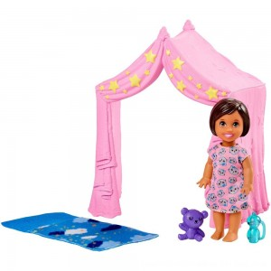 Black Friday 2020 - Barbie Skipper Babysitter Inc. Doll & Sleepover Playset