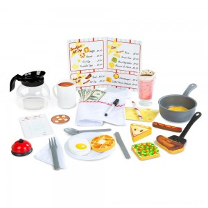 Black Friday 2020 - Melissa & Doug Star Diner Restaurant Play Set