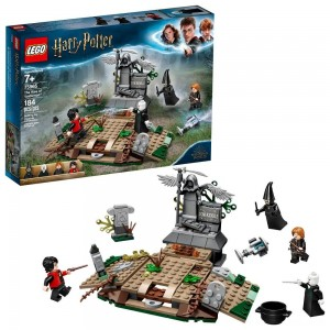 Blac Friday 2020 - LEGO Harry Potter The Rise of Voldemort 75965 Wizard Minifigure Battle Action Building Set 184pc