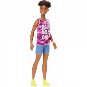Black Friday 2020 - Barbie Fashionistas Doll #128 Good Vibes Only